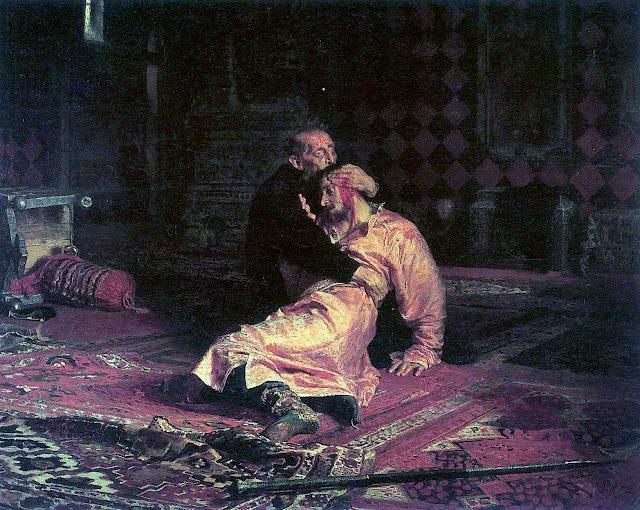 Ilja Jefimowitsch Repin 1885 painting, Ivans son
