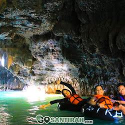 gua di sungai santirah