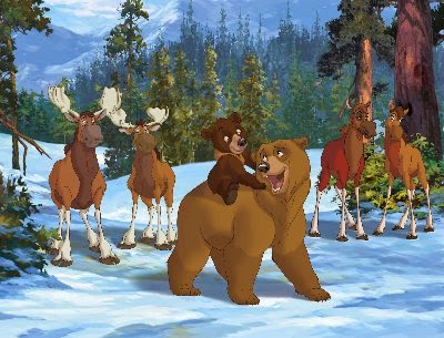 Brother Bear 2003 animatedfilmreviews.filminspector.com