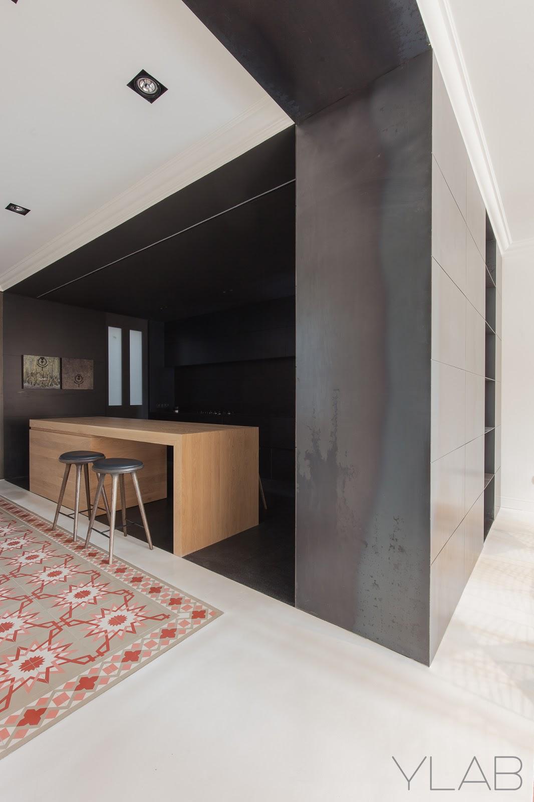 Apartamento en la avenida diagonal de barcelona ylab for Diseno interiores barcelona