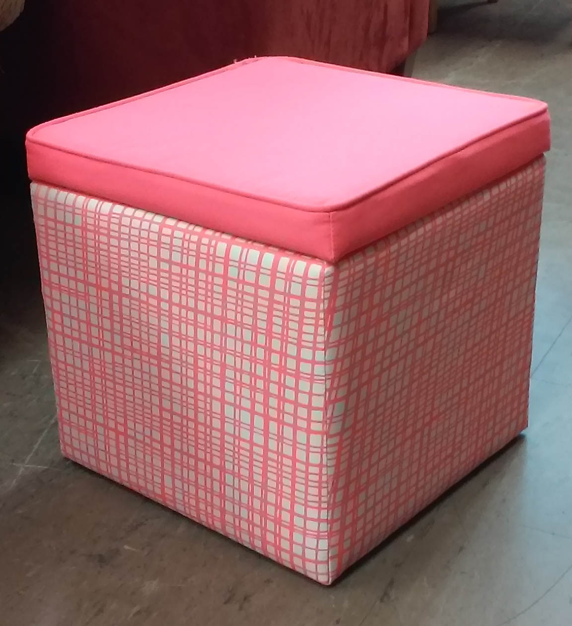 uhuru furniture collectibles sold reduced pink ottoman with storage 5