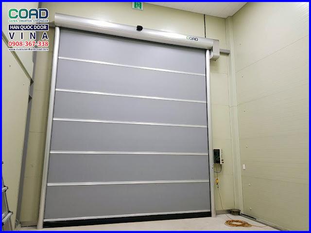 Cửa cuốn nhanh, cửa cuốn tốc độ cao, Cửa cuốn công nghiệp, Cửa đóng mở nhanh, Cửa cuốn nhựa PVC, Cửa kho lạnh, Cua cuon nhanh, Cua cuon toc do cao, Cua cuon cong nghiep, Cua dong mo nhanh, Cua cuon nhua PVC, Cua kho lanh, COAD, HIGH SPEED DOOR, RAPID DOOR, INDUSTRIAL DOOR, AUTOMATIC DOOR, VIETNAM,