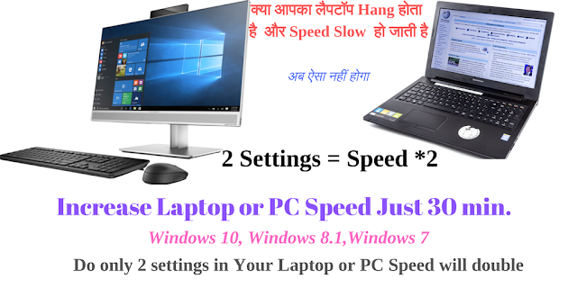 How to Speed up Windows10/7 Laptop or Computer ,How to make quikr laptop or Computer ,How to Increase Laptop or pc Speed in Windows 10/7, speed up windows 10/7 laptop or computer