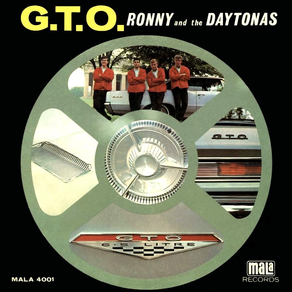 Ronny & The Daytonas - California Bound / Hey Little Girl