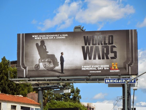 The World Wars History billboard