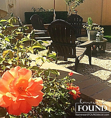 DIY, diy decorating, decorating, fire pit, furniture, garden, junk makeover, outdoors, re-purposing, summer, backyard landscaping