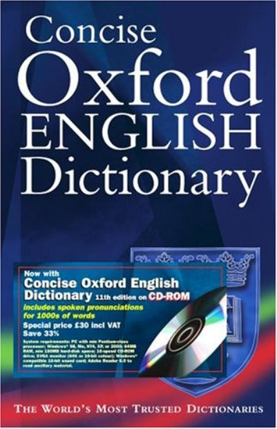 English In Italian: Concise Oxford Dictionary Registration Keys