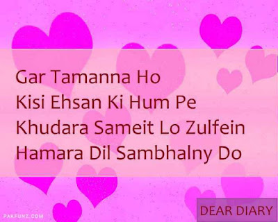 dear diary urdu poetry, love quotes, thoughts and silent words 20