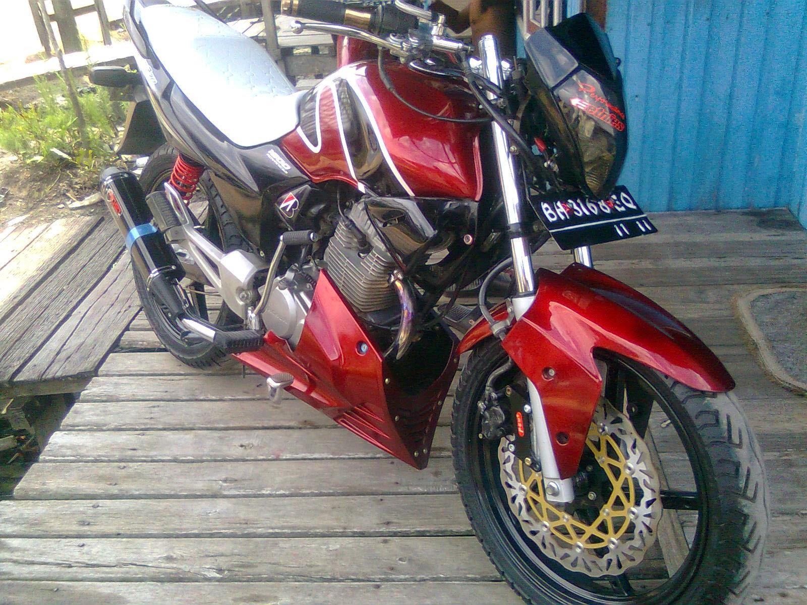 Modifikasi Motor Honda Mega Pro