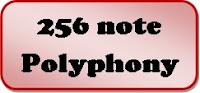 256-note polyphony