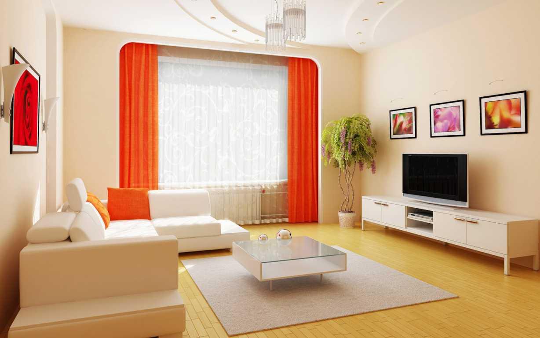 Dekorasi Ruang Tamu Rumah Flat
