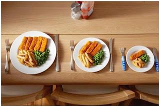 Makan Dalam Porsi Kecil Dapat Menurunkan Berat Badan