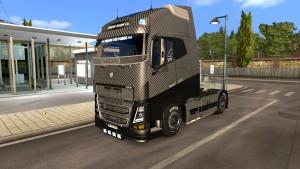 Carbon Fiber skin for Volvo 2013&;2012