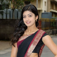 Pranitha Hot Saree Pics