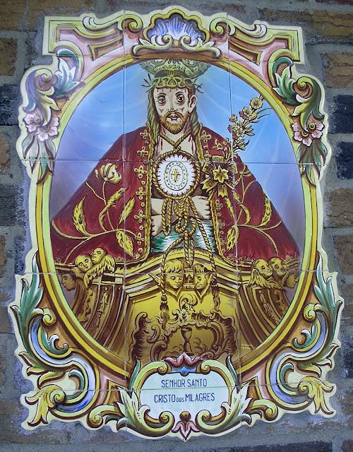 Seigneur Saint Christ des miracles azulejos portugal villeray Montréal