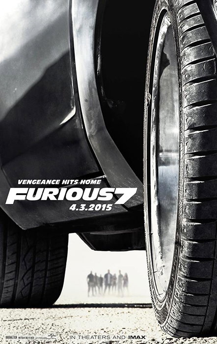 Poster Oficial Furious 7