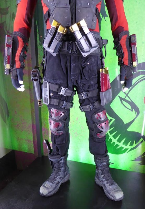 Suicide Squad Deadshot costume detail