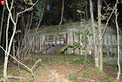 Первый немецкий бункер. Полукапонир