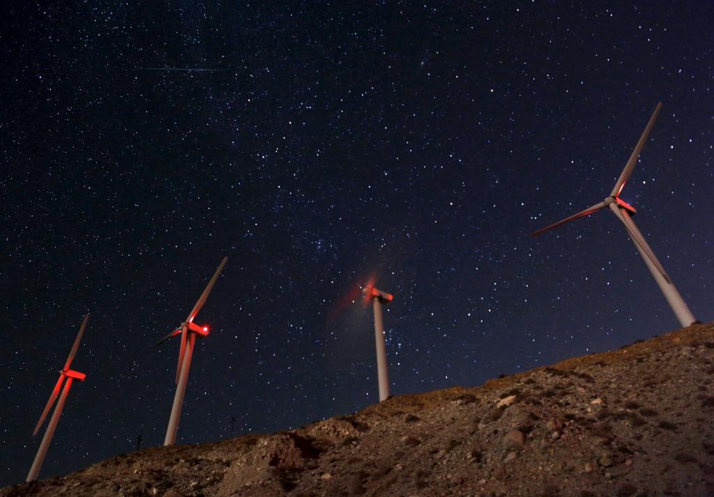 RussBLib - what the     : Roscoe Wind Farm