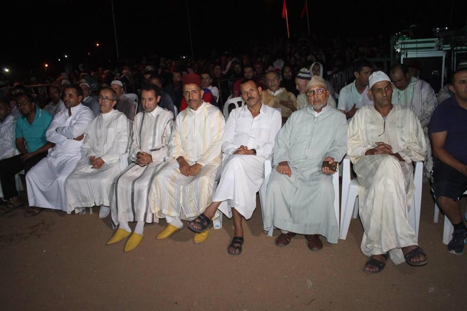 مهرجان توبقال...زيارة رئيس المجلس الاقليمي حاميد البهجة...