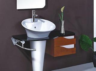cara pemasangan wastafel cuci tangan