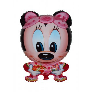 Balon Foil Karakter Minnie Mouse