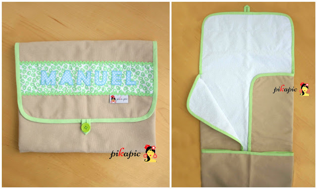 Cambiador de pañales personalizado Pikapic