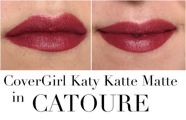 CoverGirl Katy Kat Matte Lipstick in Catoure