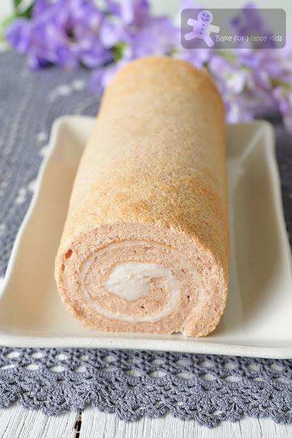 Taro cake roll recipe