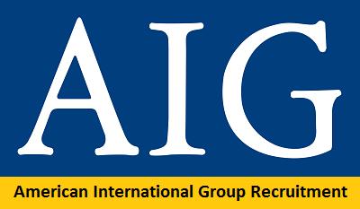 American International Group Recruitment 2017-2018 Job