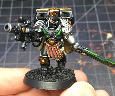 Deathwatch Watch Captain with Jump Pack WIP
