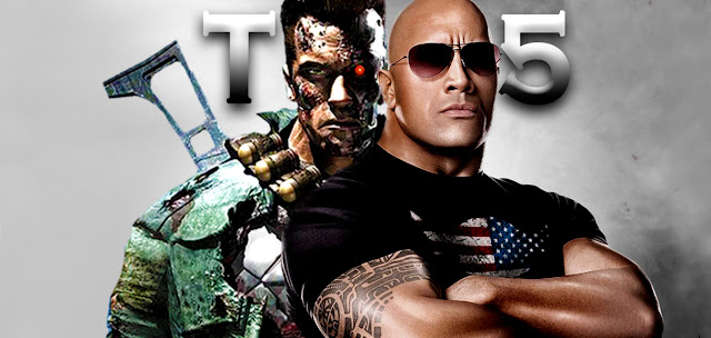Dwayne Johnson And Arnold In Terminator 5