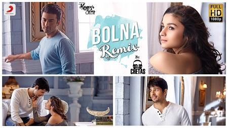 Bolna Remix Kapoor & Sons DJ Chetas Sidharth New Indian Songs 2016 Alia and Fawad Arijit