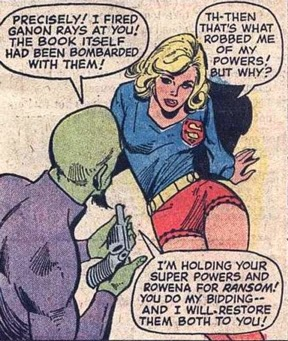Supergirl #5 robbed of her powers