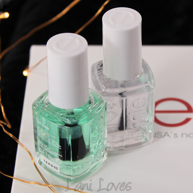 Essie First Base and Good to Go Review
