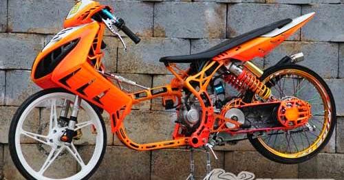 Yamaha Nouvo Racing Look Drag Bike 5