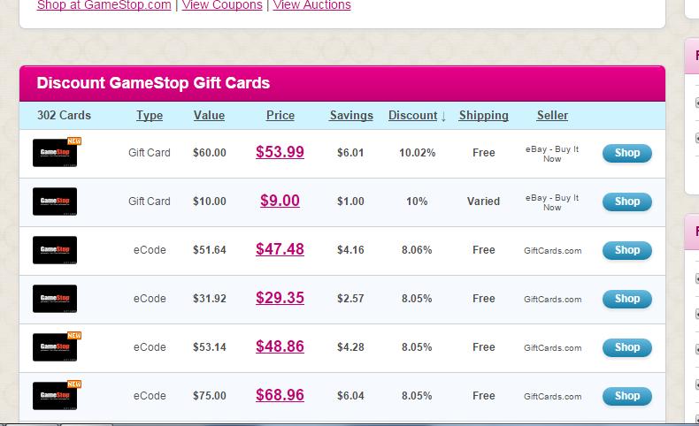 Oren's Money Saver: Upgrade GameStop Gift Card to Amazon ...