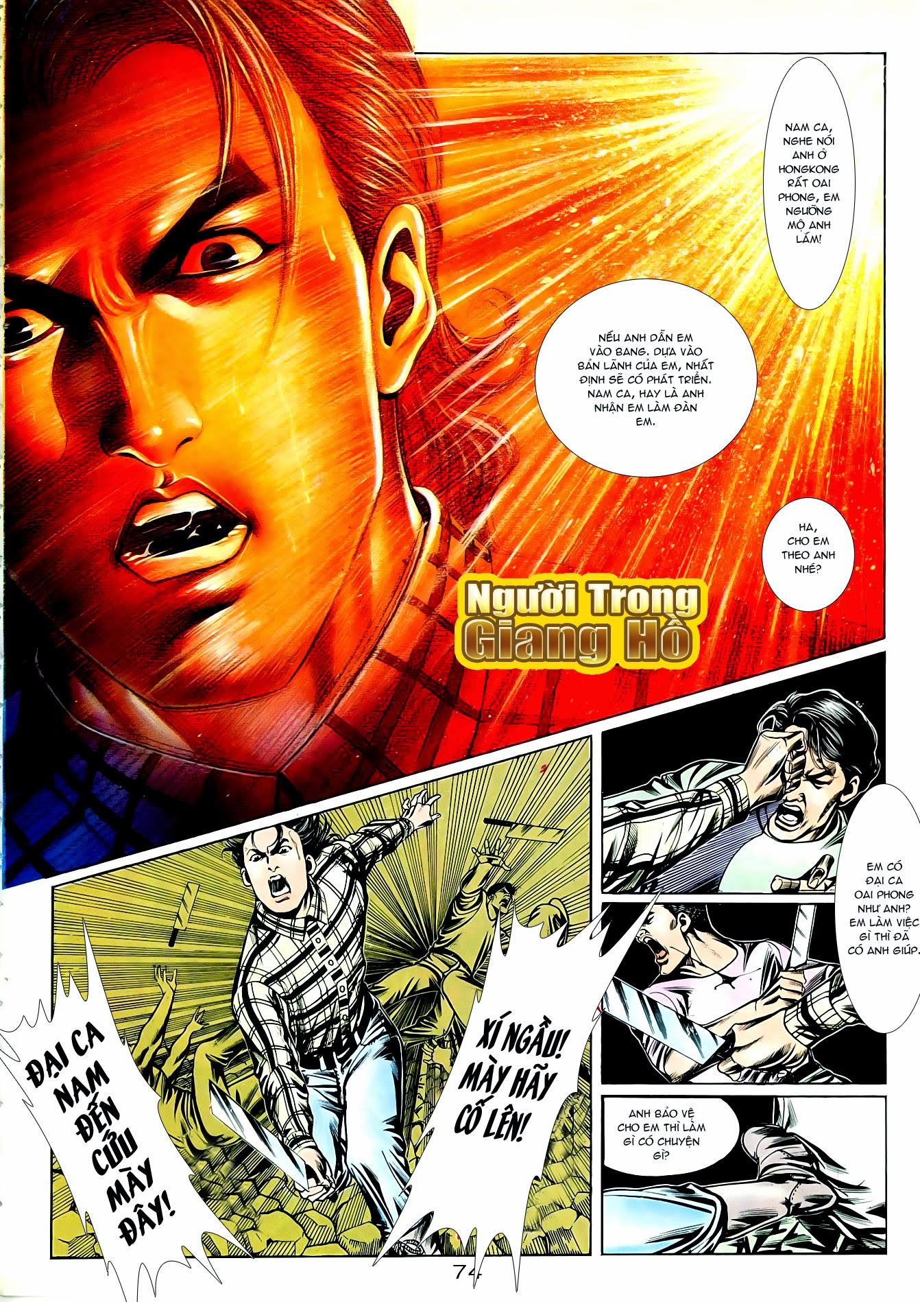 Người Trong Giang Hồ chapter 90: giang hồ hiểm trang 10