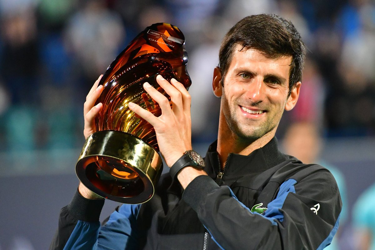 Djokovic Equals Nadal With Fourth Mubadala Title