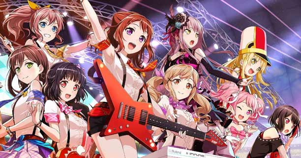 Daftar Anime Winter 2019 Terbaik - Bang Dream! 2nd Season