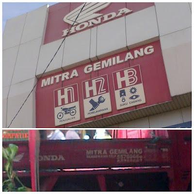 Kantor dealer honda grendeng Tangerang