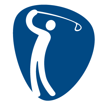 Pictogram Rio 2016 Golf 350x350 px