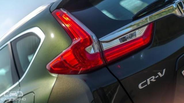 All New 2018 Honda CR-V Taillamp