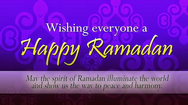 Happy ramadan msg