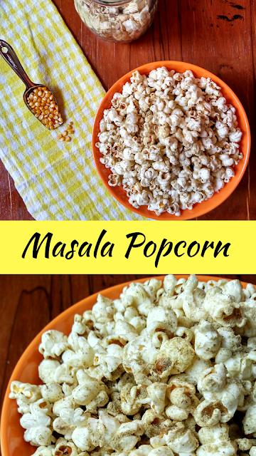 Masala Popcorn | Indian-Style Butter Popcorn | Homemade Stove-Top Popcorn