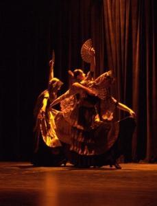 Danza. Goya en la Villa y Corte en los jardines de Sabatini