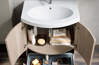 Baño pequeño funcional