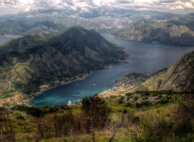 Montenegro, beautiful countries to visit in Eastern Europe