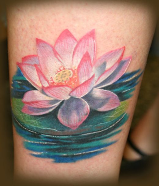 Lotus Flower Tattoos Ideas For Women | Best Tattoo Pictures