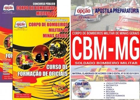 apostila Bombeiros Militar MG concurso CFO BM 2018-2019